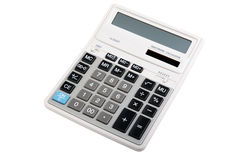 calculatrice d'isolement Photographie stock