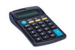 Calculatrice d'isolement sur le blanc. photo libre de droits