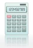 Calculatrice de vecteur Photographie stock libre de droits