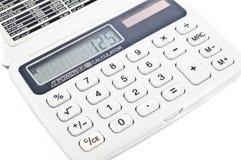 calculatrice digitale Images stock