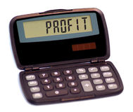 Calculatrice II images stock