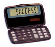 Calculatrice II image libre de droits