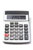 Calculatrice électronique Photo libre de droits