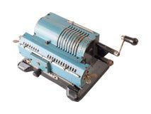 Calculatrice mécanique Photos stock