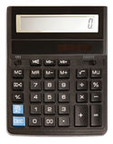 Calculatrice noire Image libre de droits