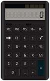 Calculatrice normale Photographie stock libre de droits