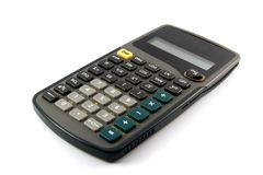 Calculatrice scientifique Images libres de droits