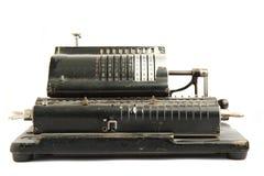 Calculatrice très vieille photographie stock libre de droits