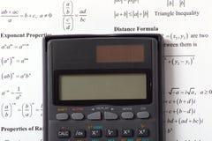 Calcule as matemáticas foto de stock royalty free