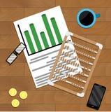 Calcule el márketing de finanzas libre illustration