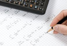 Calculus Royalty Free Stock Photos