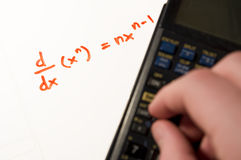 Calculus Work Stock Images