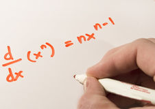 Calculus Work Royalty Free Stock Photos