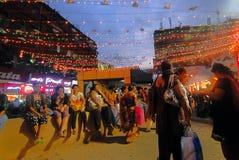 Calcutta aan Kolkata Stock Foto's