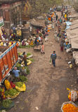 Calcutta Flower Market Royalty Free Stock Photo