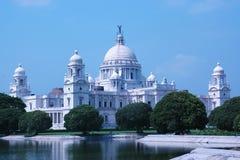 calcutta india kolkataminnesmärke victoria Royaltyfria Foton