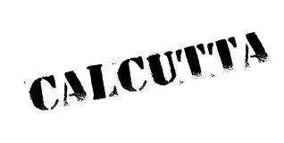 Calcutta rubber stamp Royalty Free Stock Images