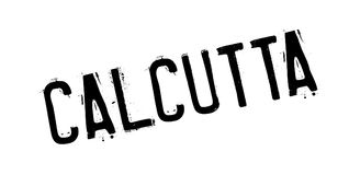 Calcutta rubber stamp Royalty Free Stock Image