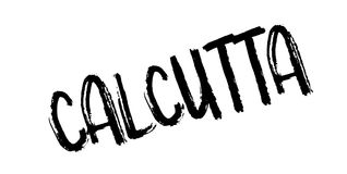 Calcutta rubber stamp Royalty Free Stock Photo