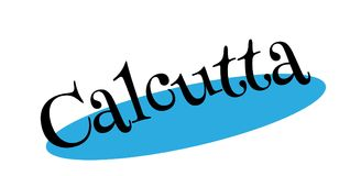 Calcutta rubber stamp Stock Images
