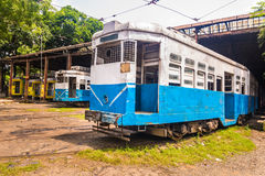 Calcutta tramways Stock Photo