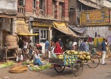 Calcutta Vegetable Market Stock Images