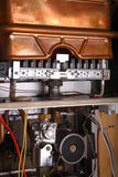 Caldaia di gas Fotografia Stock Libera da Diritti