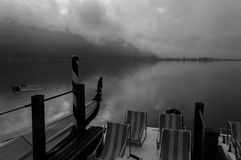 湖Caldaro 库存照片