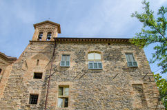Caldarola church. Image of old Caldarola church, marche - Italy Royalty Free Stock Images