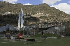 Caldea termiczny balneary w Escaldes, Andorra Obraz Royalty Free