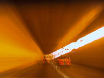 Caldecott隧道 免版税图库摄影