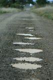 Caldeirões na estrada Imagens de Stock Royalty Free