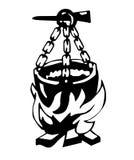 Caldeira da ilustração   ilustração royalty free