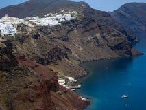 Caldeira de Santorini Photographie stock