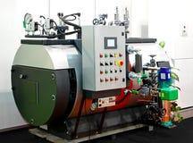 Caldeira de vapor industrial Imagens de Stock Royalty Free