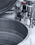 Caldeirão industrial da cozinha Fotografia de Stock Royalty Free