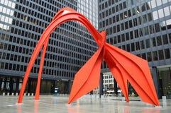 Calder's Flamingo royalty free stock photos