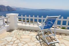 Caldera av Santorini, Grekland arkivfoton
