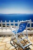 Caldera av Santorini, Grekland arkivbild