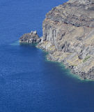Caldera cliff Stock Photos