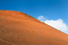 Caldera Colorada i Lanzarote, Spanien royaltyfria bilder
