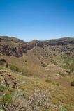 Caldera de Bandama. Volcanic caldera, Inland Gran Canaria royalty free stock photos