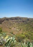 Caldera de Bandama. Volcanic caldera, Inland Gran Canaria stock photography