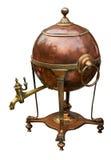 Caldera de cobre amarillo vieja Foto de archivo libre de regalías