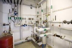 Caldera de gas Foto de archivo