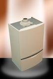 Caldera de gas Imágenes de archivo libres de regalías
