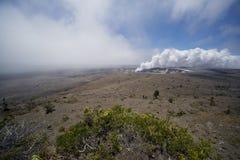 Caldera de Kilauea   imagens de stock royalty free