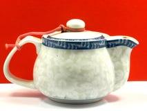 Caldera de té fotografía de archivo libre de regalías