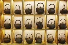 Caldera de té foto de archivo libre de regalías