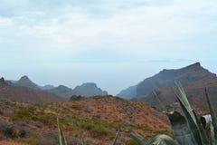 Caldera de Taburiente en el La Palma, islas Canarias, España Foto de archivo libre de regalías